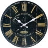 Black Rustic Style French Wall Clock