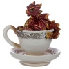 Red Baby Dragon in a Teacup