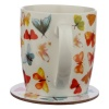 Butterfly House Mug Coaster Set