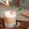 Powdered Cocoa Votive Candle by The Country Candle Co.