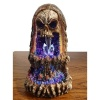 Skull Crystal Cave LED Backflow Burner