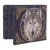 Wild One Wolf Wallet by Lisa Parker
