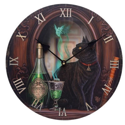 Absinthe Clock by Lisa Parker