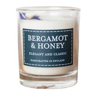 Bergamot & Honey Votive Candle by The Country Candle Co.