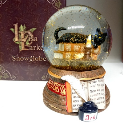 Witching Hour Snowglobe by Lisa Parker