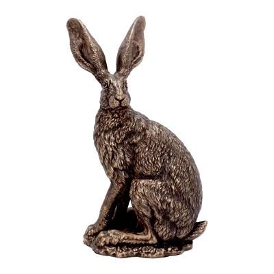 Sit Tight Hare Figurine by Andrew Bill