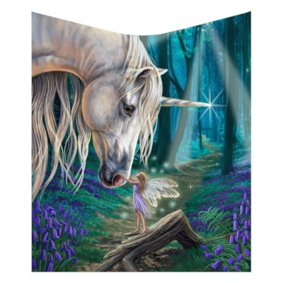 Fairy Whispers Throw by Lisa Parker