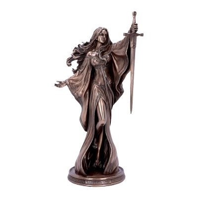 Lady of the Lake Bronze Figurine by James Ryman