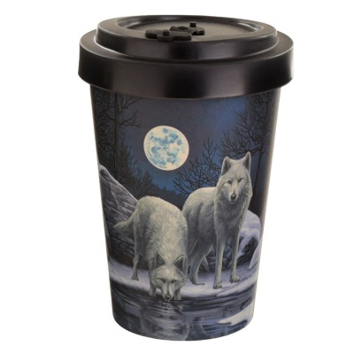 Warriors of Winter Travel Mug by Lisa Parker