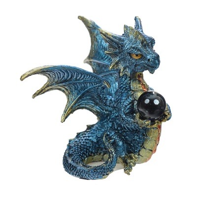 Blue 'Enchanted Nightmare' Dragon