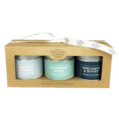Blue Candle Gift Set