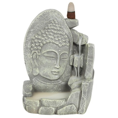 Buddha Face Backflow Burner Grey