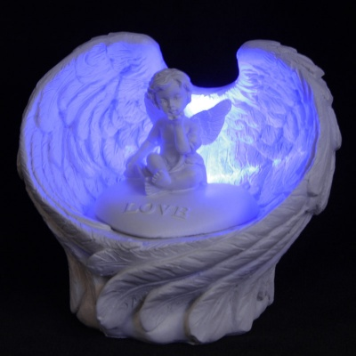 LED Love Cherub Angel Wings