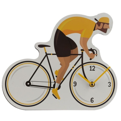 Bicycle shaped clock by Cycle Works