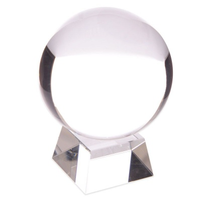 10 cm Crystal Ball with Stand
