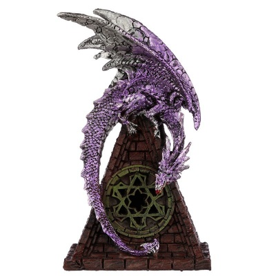 Purple 'Dark Legends' LED Dragon