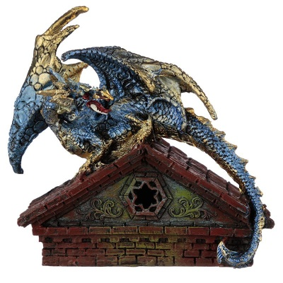 BLUE ROOF TOP LED DRAGON