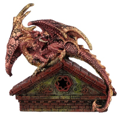 Red Roof Top LED Dragon