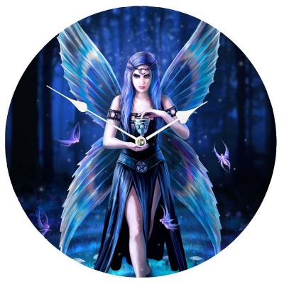 Enchantment Clock by Anne Stokes