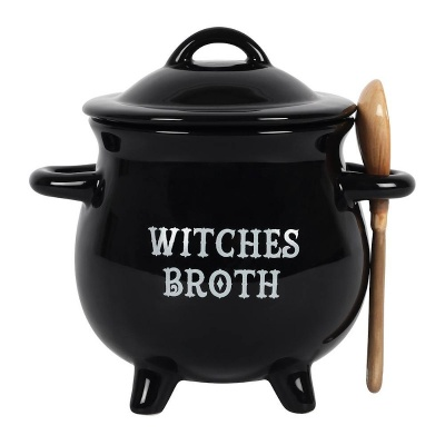 Witches Broth Cauldron Soup Bowl