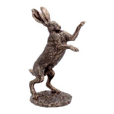 Fight Hare Figurine by Andrew Bill