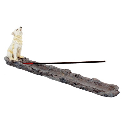 Wolf Call Incense Stick Holder