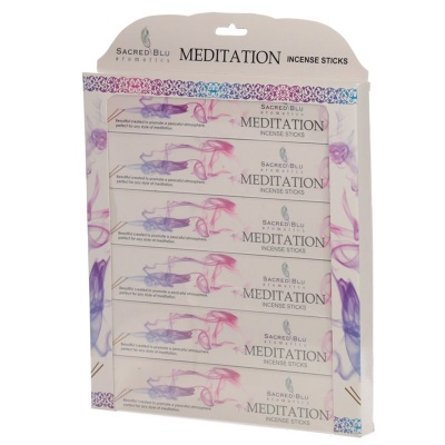 Meditation Incense Gift Set by Sacred Blu Aromatics