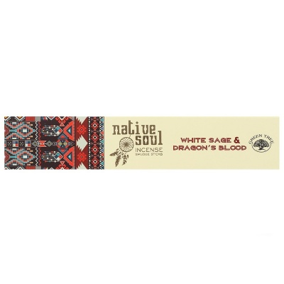 Native Soul White Sage & Dragons Blood Incense Sticks