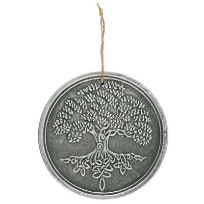 Tree of Life Silver Effect Plaque by Lisa Parker