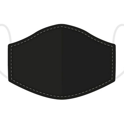 Black Reusable Face Covering