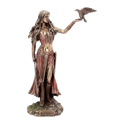 Morrigan Bronze Figurine