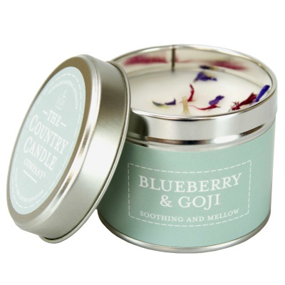 Blueberry & Goji Candle Tin by The Country Candle Co.