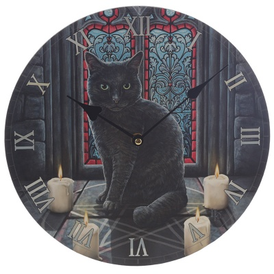 Sacred Circle Clock by Lisa Parker