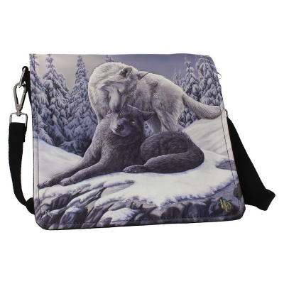 Snow Kisses Shoulder Bag by Lisa Parker