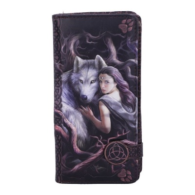 Soul Bond Embossed Purse by Anne Stokes