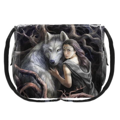 Soul Bond Messenger Bag by Anne Stokes
