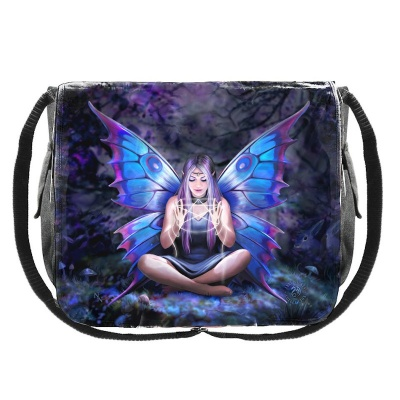 Spell Weaver Messenger Bag by Anne Stokes