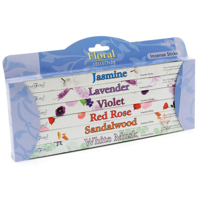 Stamford Floral Incense Gift Pack