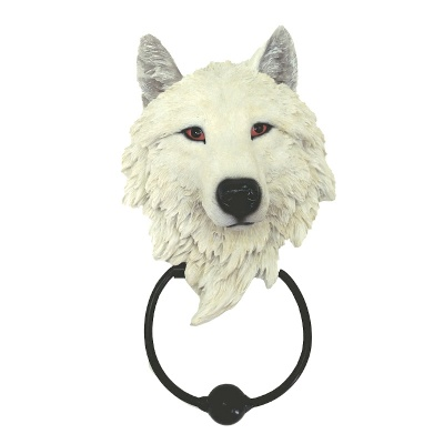 Guardian Wolf Door Knocker