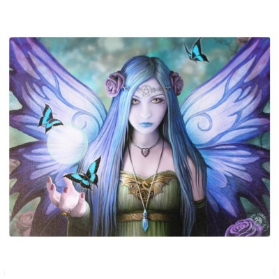 Mystic Aura Small Canvas by Anne Stokes