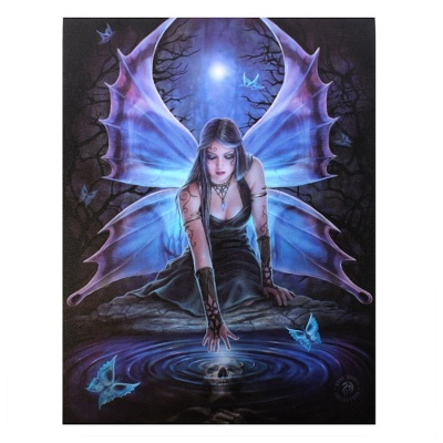 Immortal Flight Small Canvas by Anne Stokes