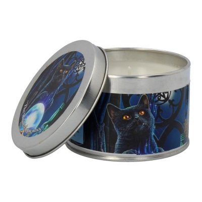 Witches Apprentice Tin Candle by Lisa Parker