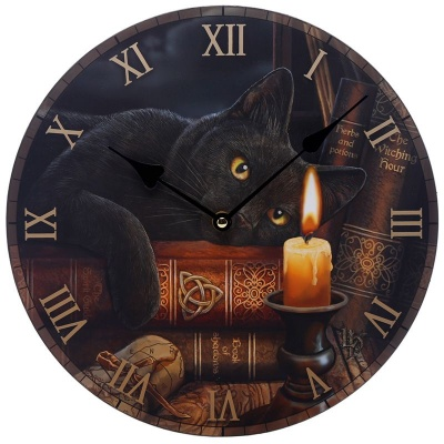 Witching Hour Clock by Lisa Parker