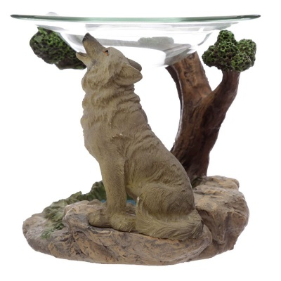 Spirit of the Forest Wolf Oil Burner