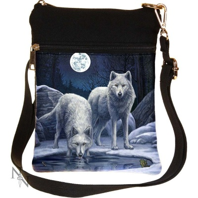 Warriors of Winter Shoulder Bag by Lisa Parker