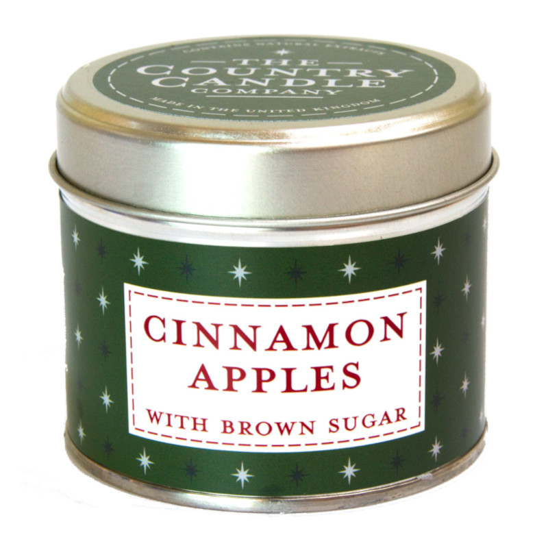 Cinnamon Apples Candle Tin by The Country Candle Co.