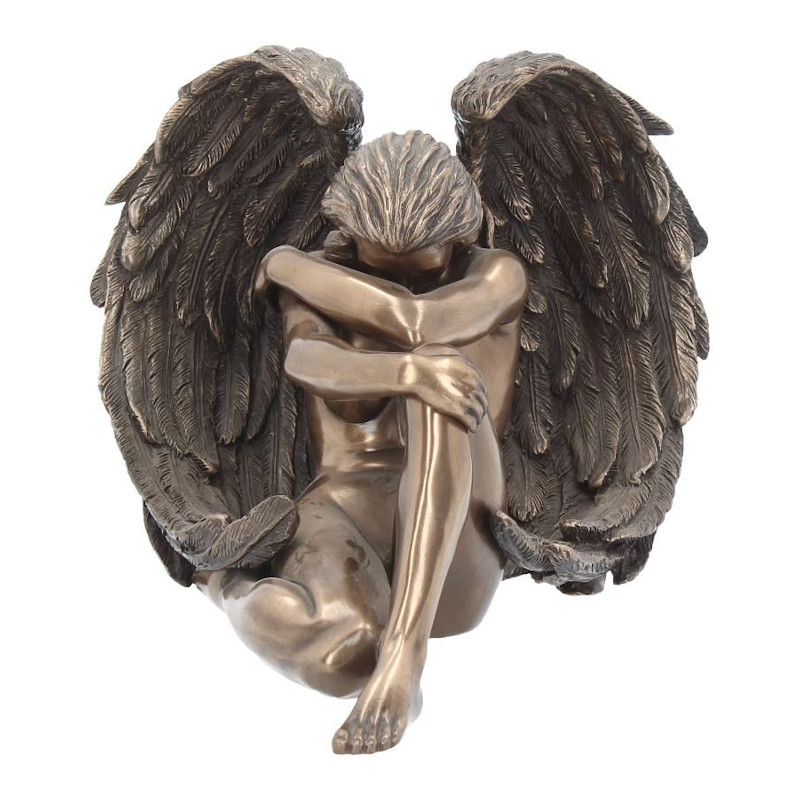 Bronzed Angels Despair Figurine
