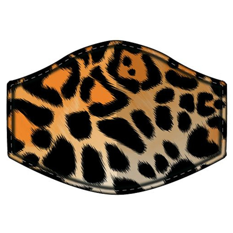 ANIMAL PRINT REUSABLE FACE COVERING