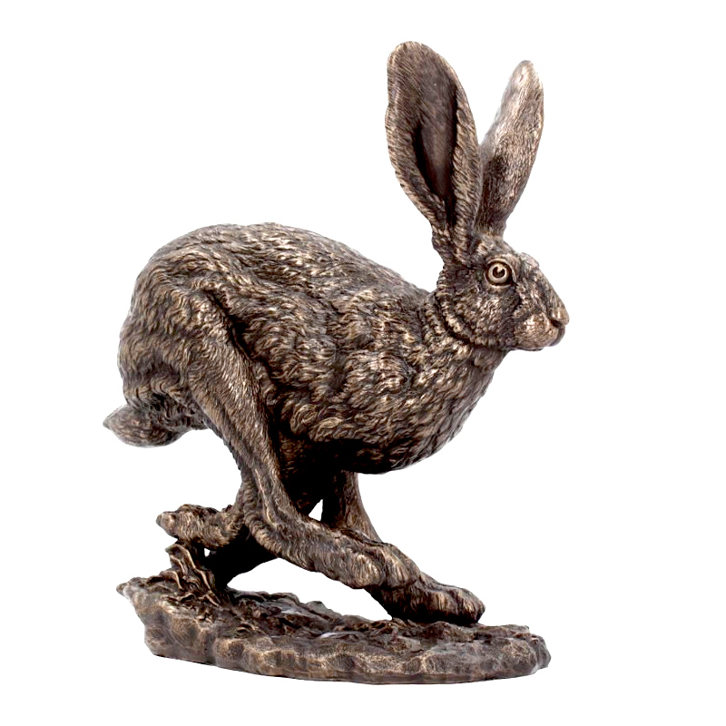 Flight Hare Figurine by Andrew Bill