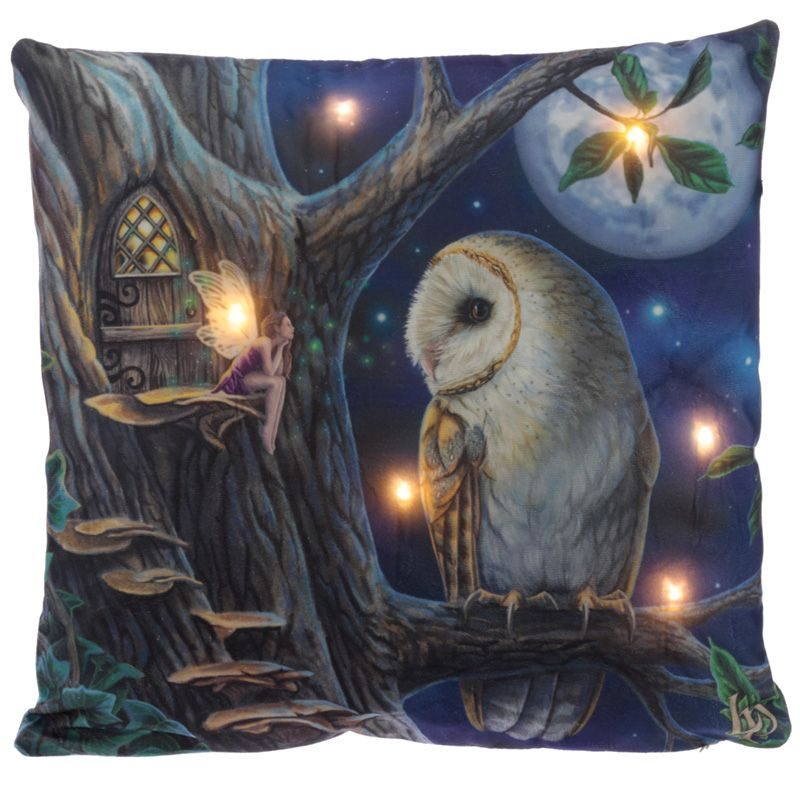 Fairy Tales light up cushion by Lisa Parker